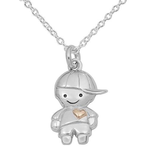Amazon.com: Hallmark – Tarjeta de joyas plata de ley Little ...