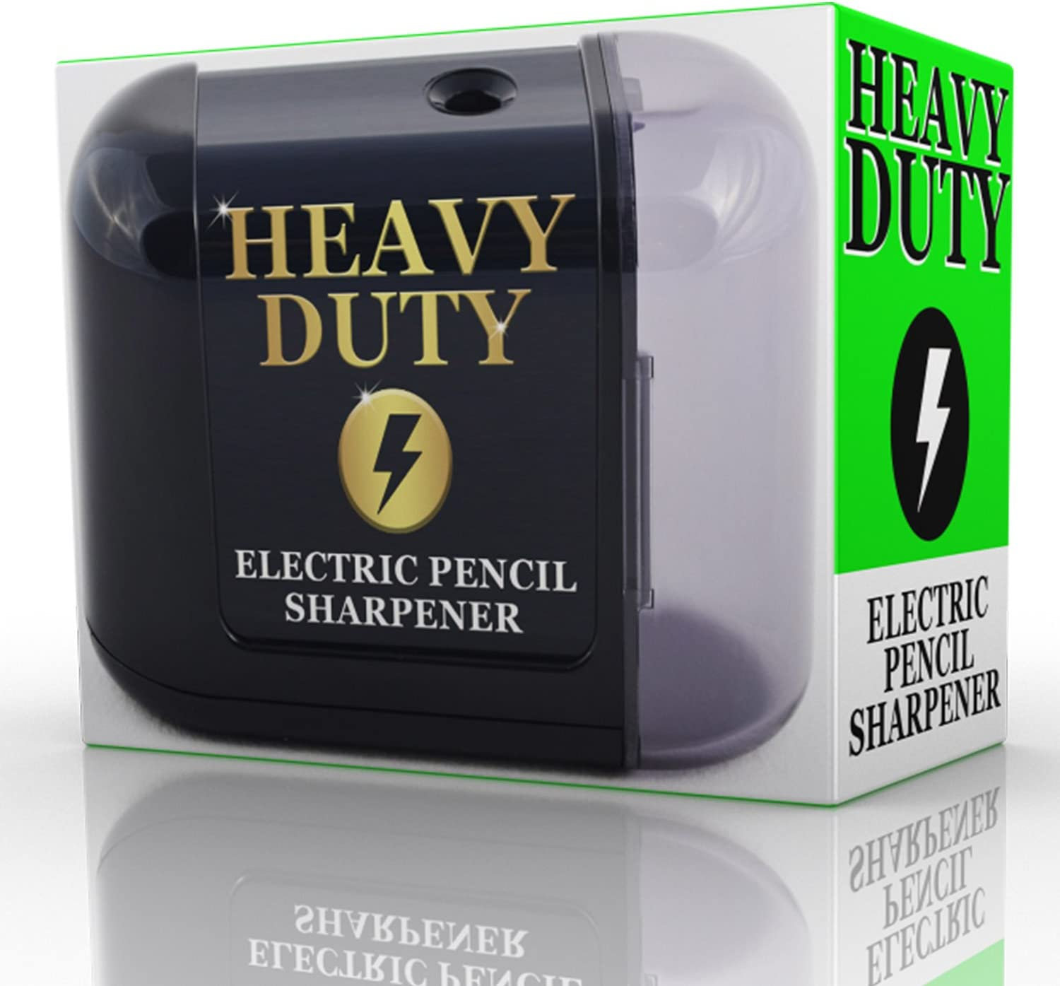 Artist Choice Electric-Pencil-Sharpener Battery Powered Heavy Duty Helical Blade Pencil Sharpener
