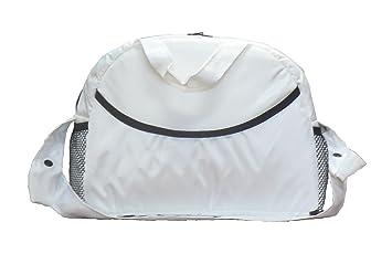 Kutnik - Bolsos para carritos de bebe, Bolso carro bandolera - BLANCO: Amazon.es: Bebé