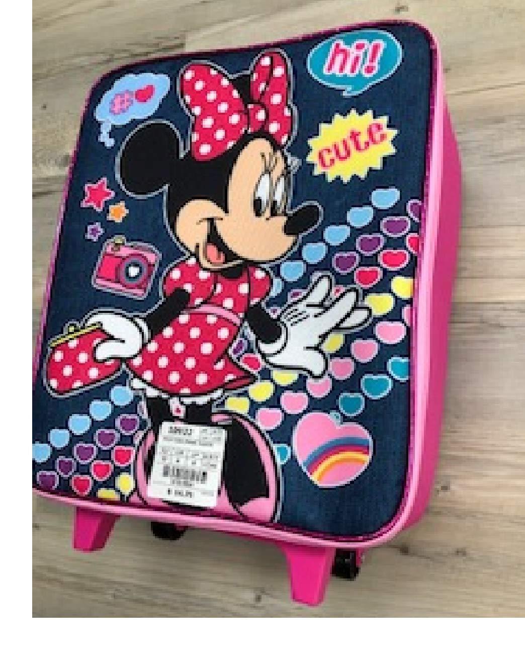 Disney Minie Mouse Luggage Pilot Case, PINK//BLUE -