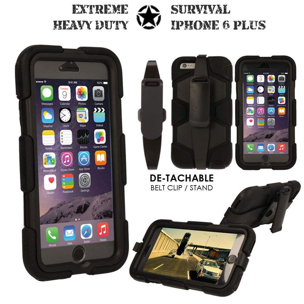 coque iphone 6 plus incassable antichoc