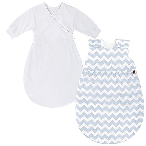 sugarapple – Saco de dormir para bebé (2 piezas) (50 cm – 70