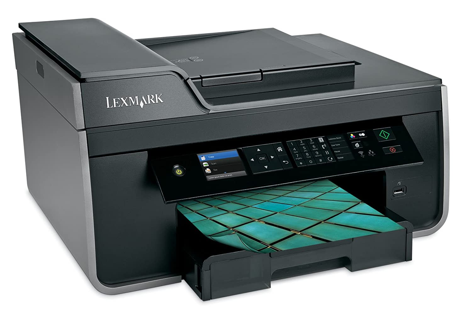 Amazon.com : Lexmark Pro715 Wireless Inkjet All-in-One Printer ...
