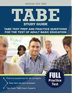 Tabe secrets study guide tabe exam review for the test of adult test of adult basic education study guide tabe test prep and practice test questions fandeluxe Images