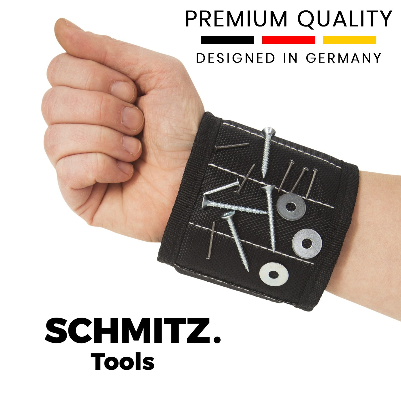 Magnetarmband für Handwerker - Magnetisches Armband für Schrauben ...