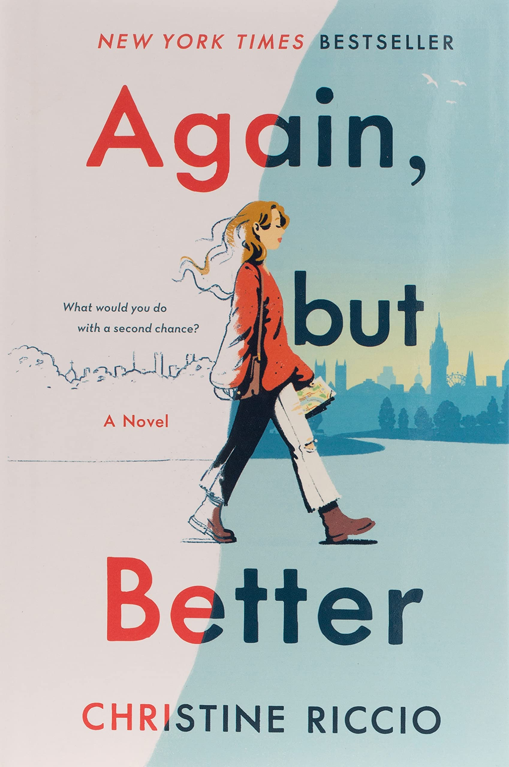Amazon.com: Again, but Better: A Novel: 9781250299253: Riccio, Christine: Books