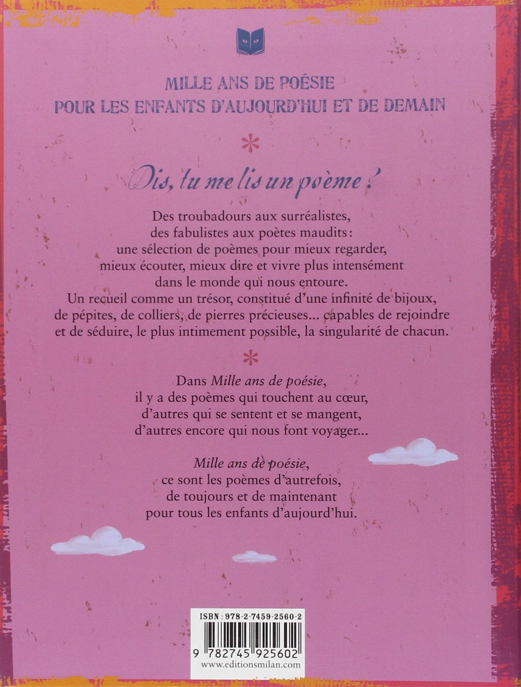 Mille Ans De Poésie 9782745925602 Amazoncom Books