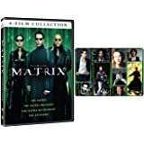 The Matrix: Complete Movie Trilogy and Anime Film DVD (Reloaded / Revolutions / Animatrix) with Bonus Art Card