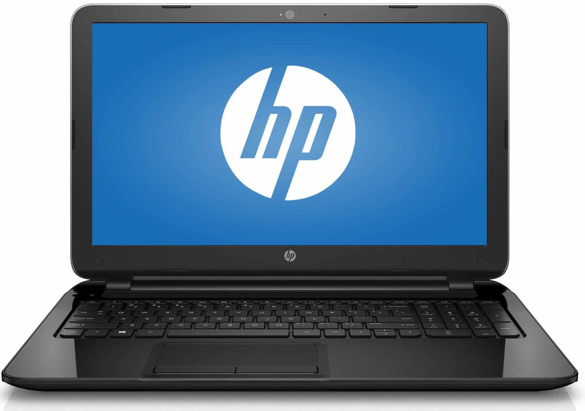 HP 15.6'' HD Laptop Computer (Intel Dual Core Celeron N3050 up to 2.16 GHz Processor, 4GB RAM, 500GB HDD, USB 3.0, Webcam, HDMI, DVDRW, Wifi, Windows 10) (Certified Refurbished)