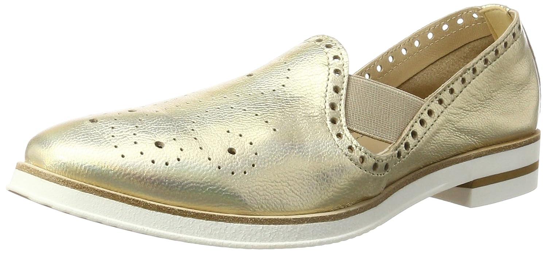 Peperosa 202, Zapatos Brogue 36 EU|Dorado (Platino)