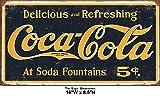 Shop72- Tin Signs Coke Coca Cola 1910 Retro Tin