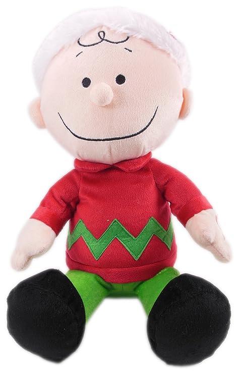 Amazon Com Peanuts Animated Charlie Brown Christmas Plush Toys Games