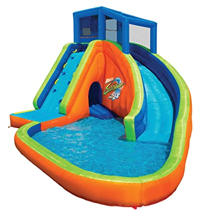 03f3b97591bb Image Unavailable. Image not available for. Color  BANZAI Sidewinder Falls Inflatable  Water Slide