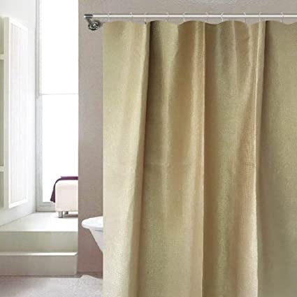 Serenity Dobby Design Metallic Shimmer Shower Curtain Offers Style And Glam Luxurious
