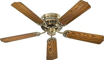 """Quorum 4 Custom Hugger 52"""" 5 Blade Indoor Ceiling Fan in"""
