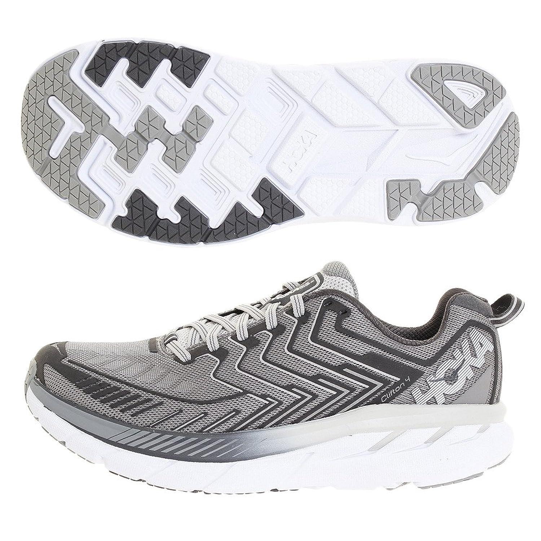 Hoka One One(ホカオネオネ) メンズ 男性用 シューズ 靴 スニーカー 運動靴 Clifton 4 - Griffin/Micro Chip [並行輸入品] B07C8LCJ4W