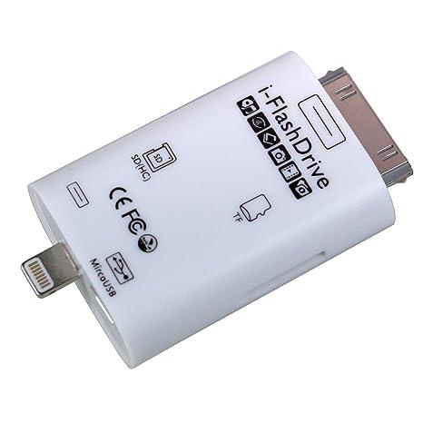 3 en 1 tarjeta lector [SD & Ranura para tarjeta MicroSD ...