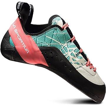 best La Sportiva Kataki Climbing Shoe - Women's Mint/Coral 39 reviews