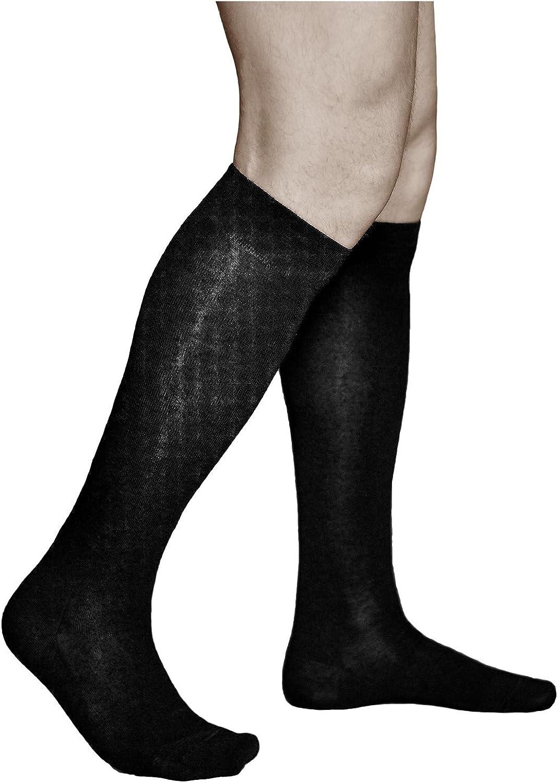 Vitsocks MERINO WOOL Socks for Men Warm Long Knee-High for Winter Chilly Weather