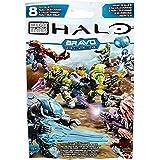 Mega Bloks – Halo – Série Bravo – 1 Figurine Articulée – Modèle Aléatoire