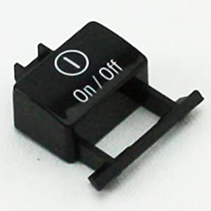 Bosch 00184590 Dishwasher Power Switch Button Genuine Original Equipment Manufacturer (OEM) Part