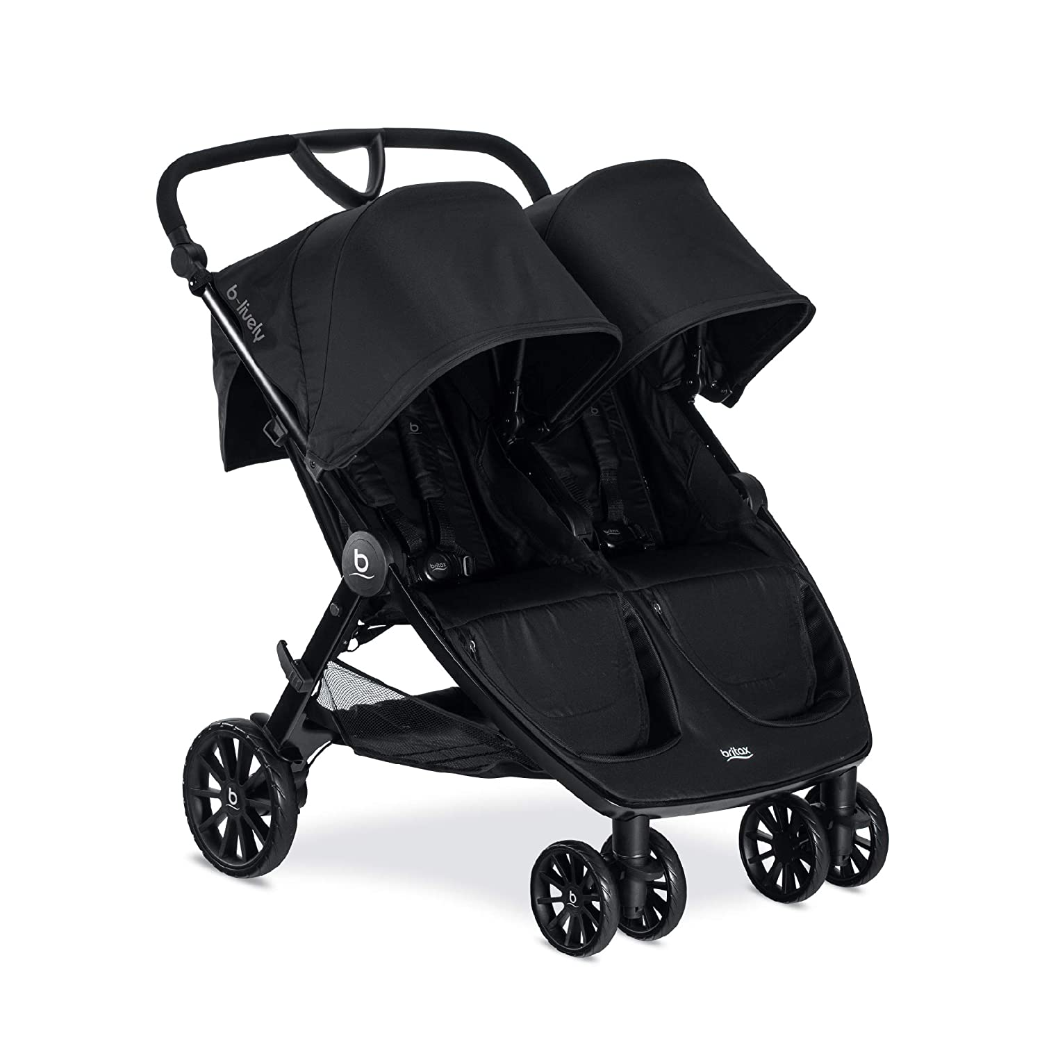 Britax B-Lively Double Seat Baby Stroller