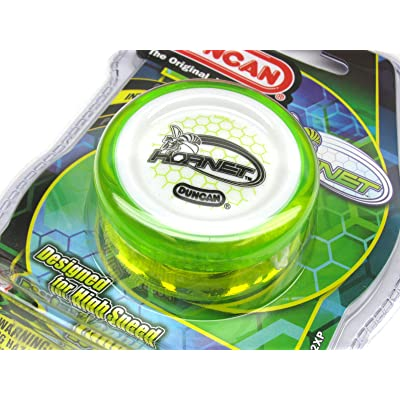 Duncan Hornet Looping Intermediate Yo-Yo - Transparent Yellow-White: Toys & Games