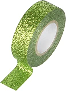 15mm by 5m Yellow Best Creation GTS011 Glitter Tape