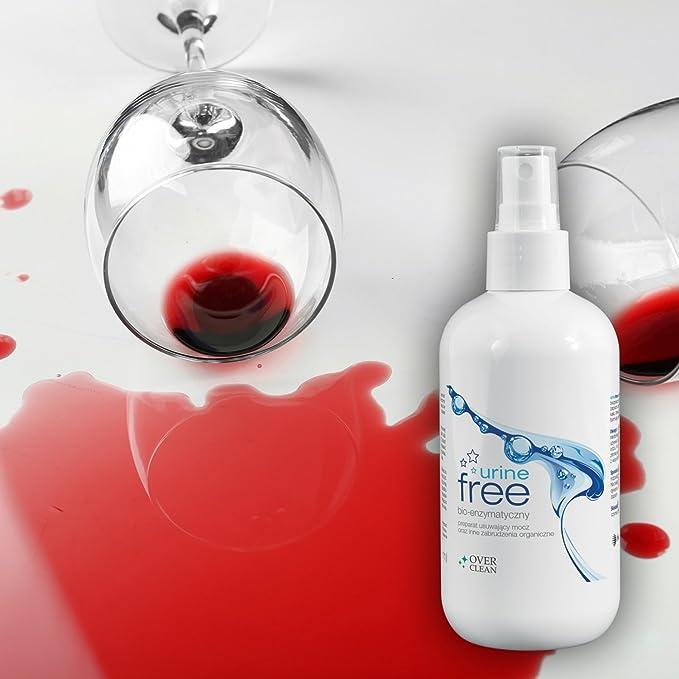 Over Clean - Quitamanchas enzima limpiador contra orines manchas contra orgánicos manchas como, sangre, erbrochenes: Amazon.es: Salud y cuidado personal