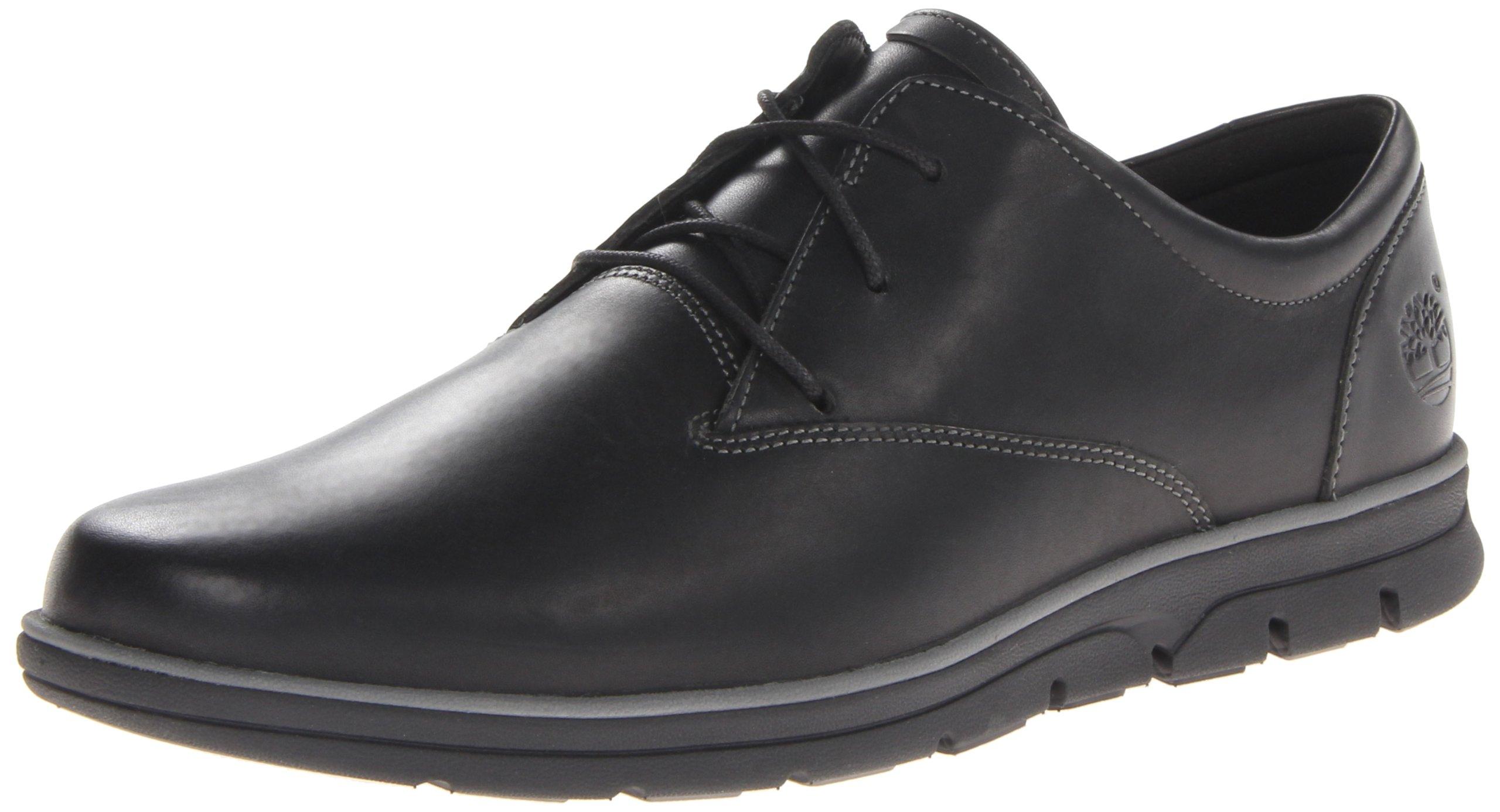 Timberland Men's Bradstreet Plain Toe Oxford,Black,11 M US