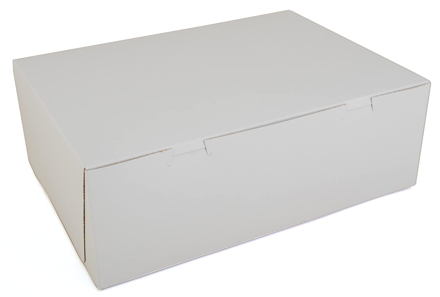 Southern Champion Tray 1005 Premium Clay Coated Kraft Paperboard White Non-Window Sheet Cake and Utility Box, 14-1/2