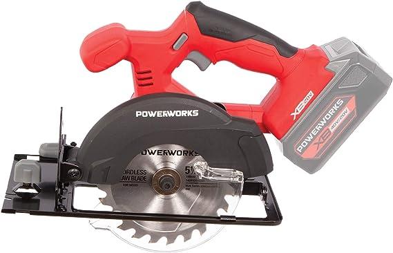 Amazon.com: POWERWORKS XB - Batería de sierra circular sin ...