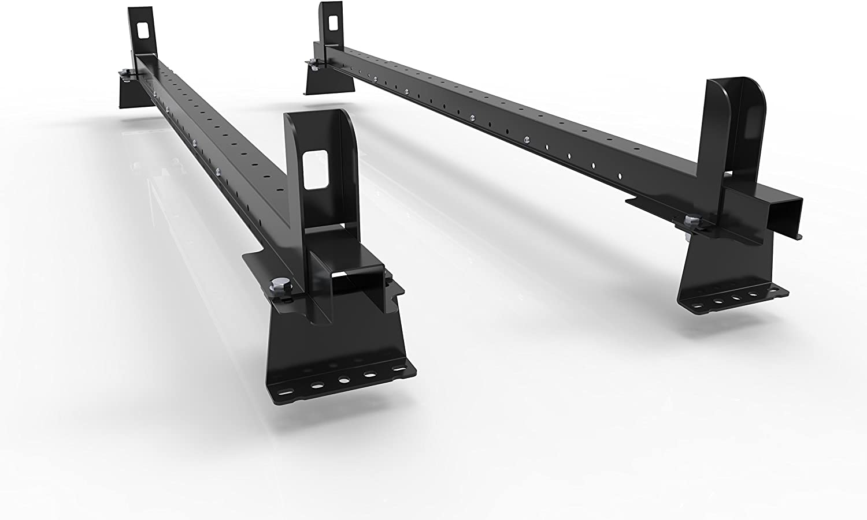- 2 Van Roof Rack Bars Rails for Mk2 PEUGEOT EXPERT VAN 2007-to-2016 AutoRack EasyBars With End-Stops and all fittings