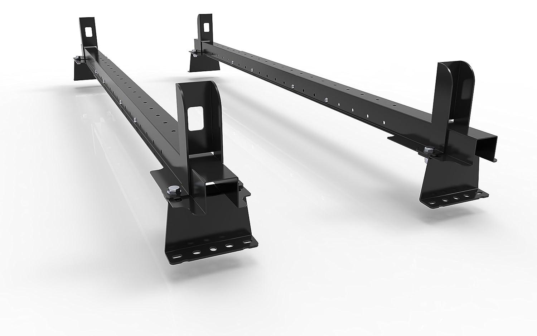 Mk2 CITROEN BERLINGO VAN (2009-to-new)-model - 2 Van Roof Rack Bars Rails With End-Stops and all fittings - AutoRack EasyBars Autorack Products