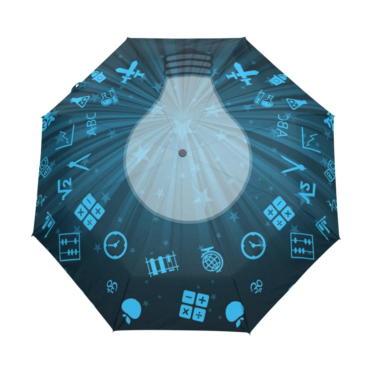 Senya Saobao防風と防雨トラベル傘with自動開いて閉じFolding学習スタイルポータブル折りたたみ式太陽雨傘   B07FFVK94D