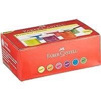 Faber-Castell 5170160403 Floresan Guaj Boya, 6'lı, 6 Renk