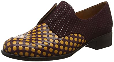 Cute - Mocasines para Mujer, Multicolor (Woven Luna E/Xuva Grape), Talla 40 EU Chie Mihara