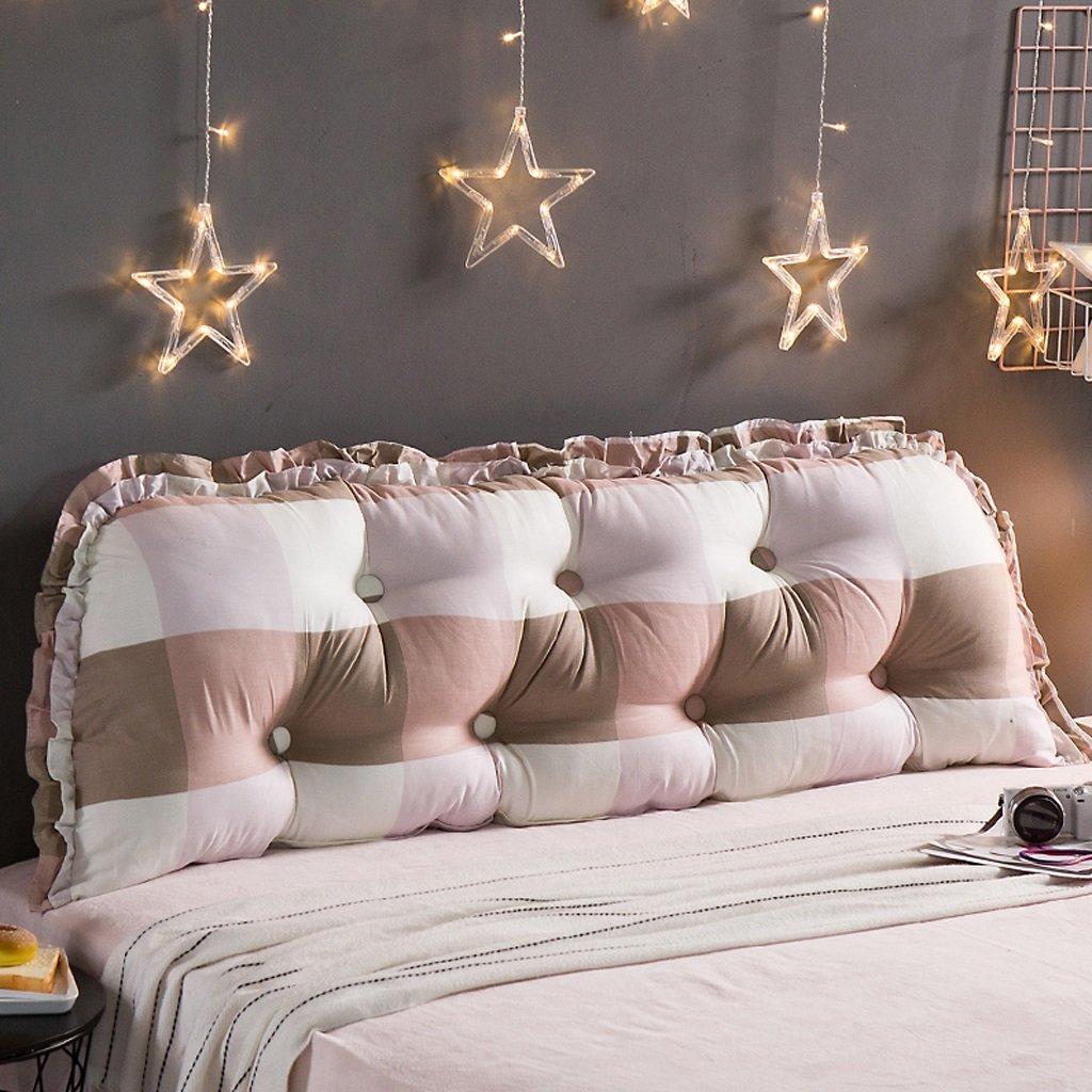 DGF Sofa double back cushions - children mattress cushions pillow reading pillow waist cushions (Energy A +) ( Color : A , Size : 19053cm )