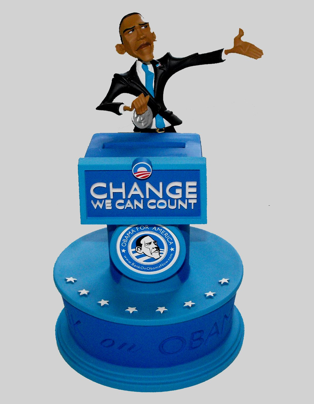 Bank On Obama - Change We Can Count - The Presidential Savings Bank by Beareo (Image #1)