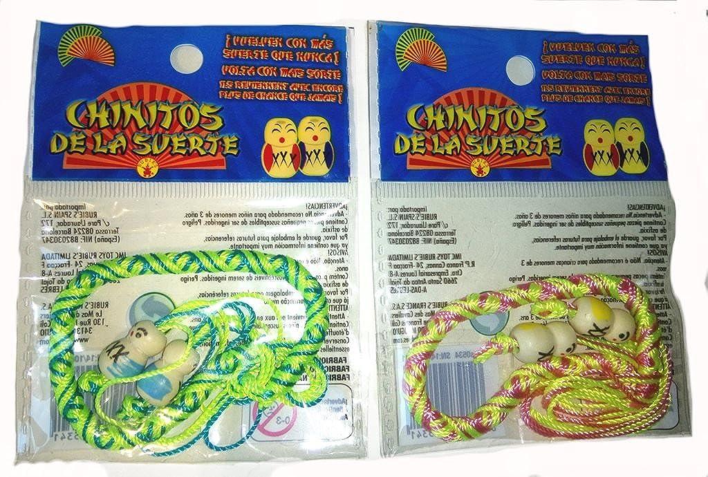 25 Pulseras Chinitos de la suerte: Amazon.es: Joyería