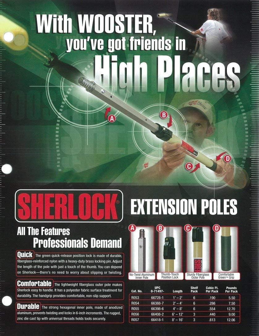 Wooster Brush SR053 Sherlock Extension Pole 1-2 feet
