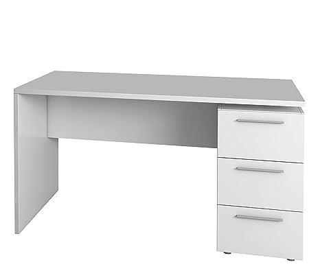 Habitdesign 004605BO - Mesa de despacho 3 cajones, Color ...