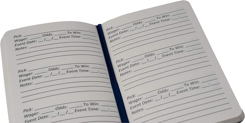 Sports betting notebook betting advisory mcx camp