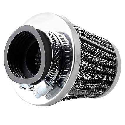 Alftek Filtros de Aire para Motocicleta POD 35//39//42//44//48//50//52//54//60 mm para ATV Pit Dirt Bike