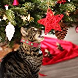 HOMIMP Christmas Cat Collar Breakaway Bell