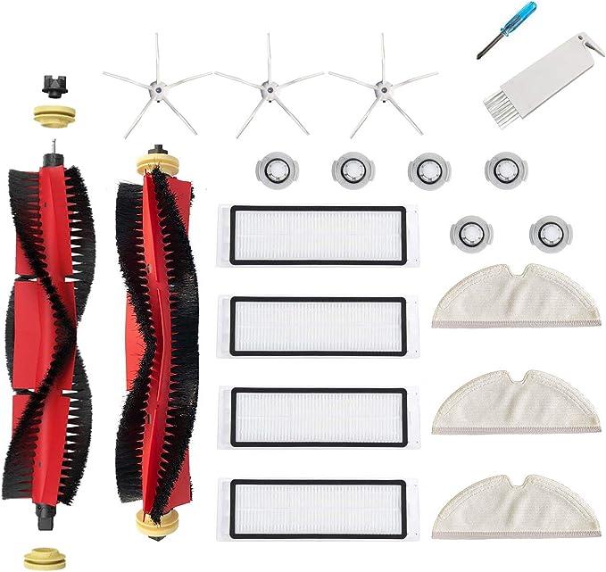 Spare Parts Set Xiaomi Roborock Robot S50 S5 S6 Vacuum Cleaner Brush Filter Kits