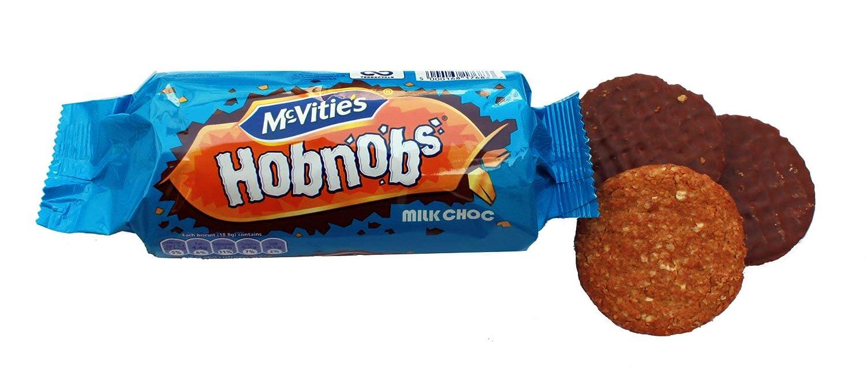 Amazon.com : McVities Hob Nob Milk Chocolate 262g 3 pack, 9.24 Ounce (Pack  of 3) : Cookies Gourmet : Grocery & Gourmet Food