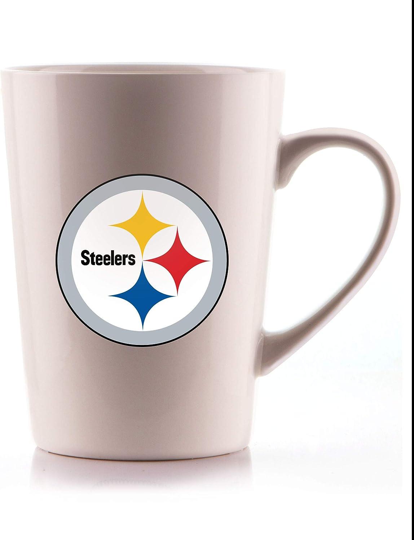 Duck House NFL Pittsburgh Steelers Unisex Bone China Mugbone China Mug White 18 oz