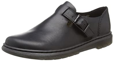 b93c826d040 Dr.Martens Womens Patricia III New Oily Illusion Black Shoes 6 US