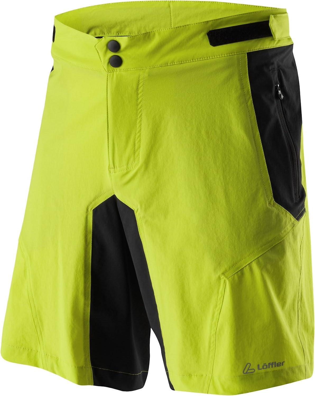 Löffler Tourano Comfort Stretch Light Bike Shorts Herren safran 2019 Fahrradhose